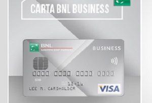 carta di credito bnl